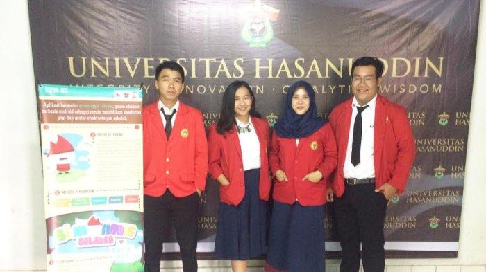 Mahasiswa FKG Unhas Ciptakan Game Android Untuk Edukasi Kesehatan Gigi