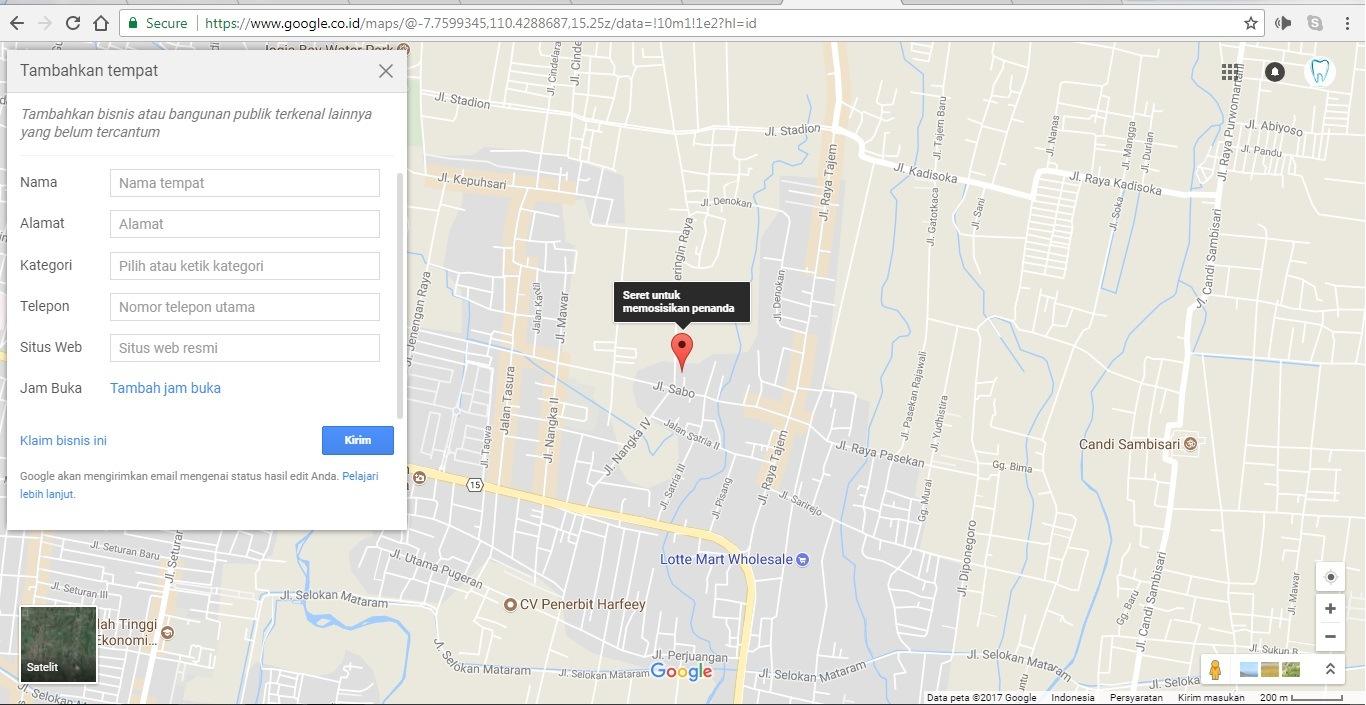 Tutorial Menambahkan Klinik Gigi Di Google Map Dan Google Business