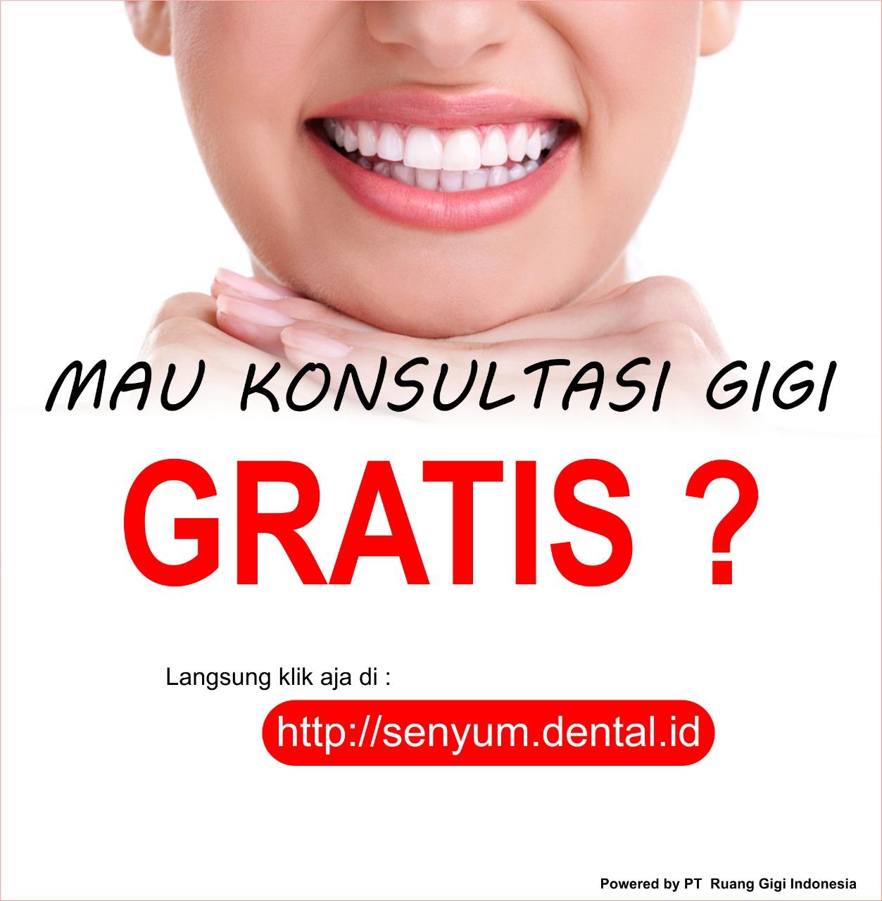SENYUM : Layanan Konsultasi Kesehatan Gigi