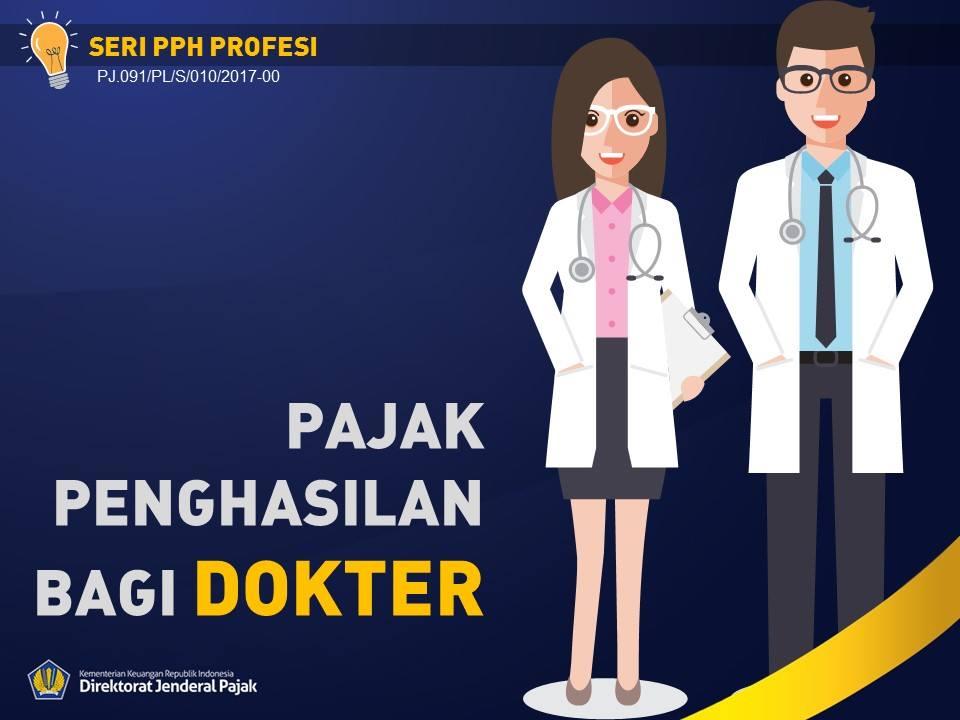 Pajak Penghasilan Bagi Dokter